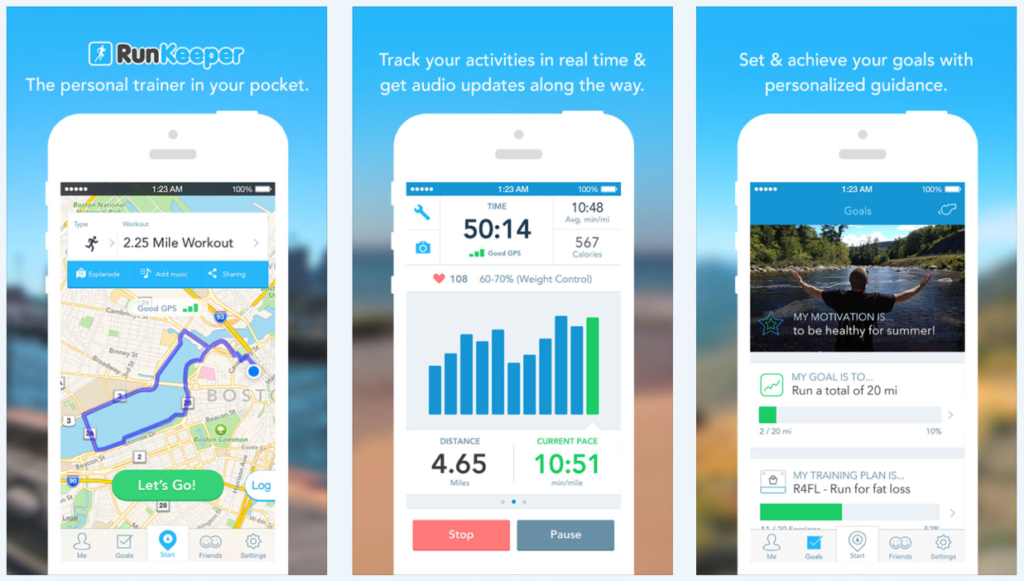 Six ways to improve your app store screenshots and get a free in the image below you can see how runkeeper is able to very quickly show off the design of their app and convey its main benefit with just one screenshot maxwellsz